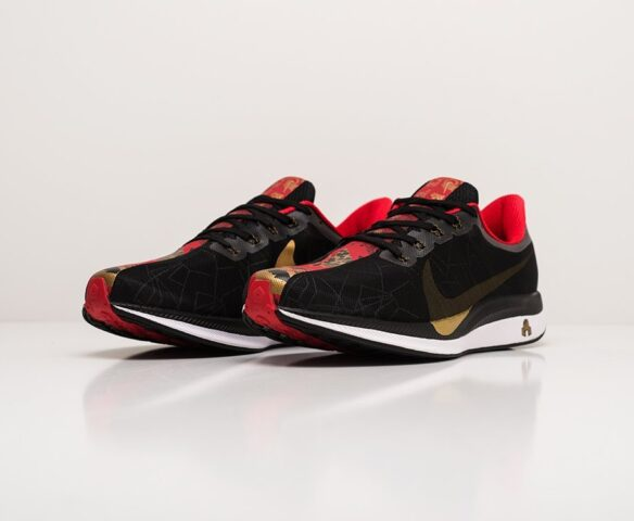 Nike Zoom Pegasus 35 Turbo черные. Вид 3
