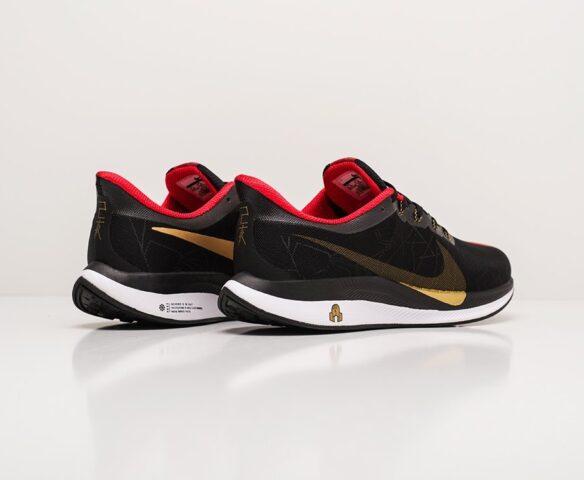 Nike Zoom Pegasus 35 Turbo черные. Вид 4