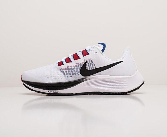 Nike Zoom Pegasus 37 белые. Вид 2