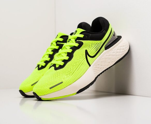 Nike ZoomX Invincible Run Flyknit зеленые. Вид 1