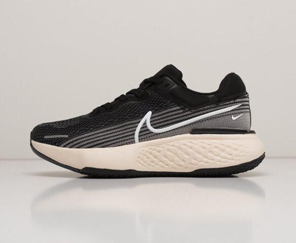 Nike ZoomX Invincible Run Flyknit черные. Вид 2