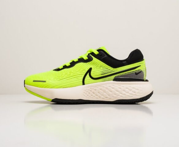 Nike ZoomX Invincible Run Flyknit зеленые. Вид 2